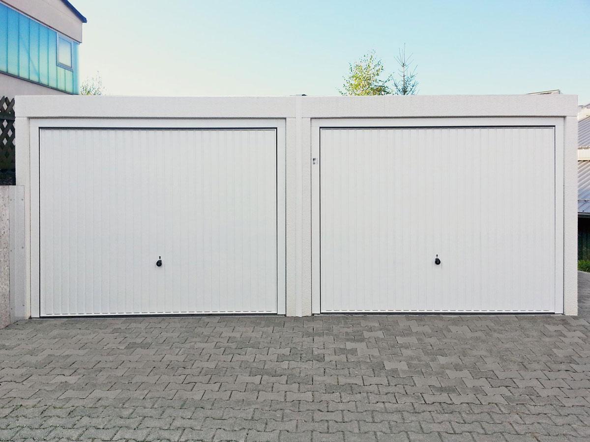 Hervorragend Trennbare Doppelgarage – Fertiggarage aus Beton ZV53
